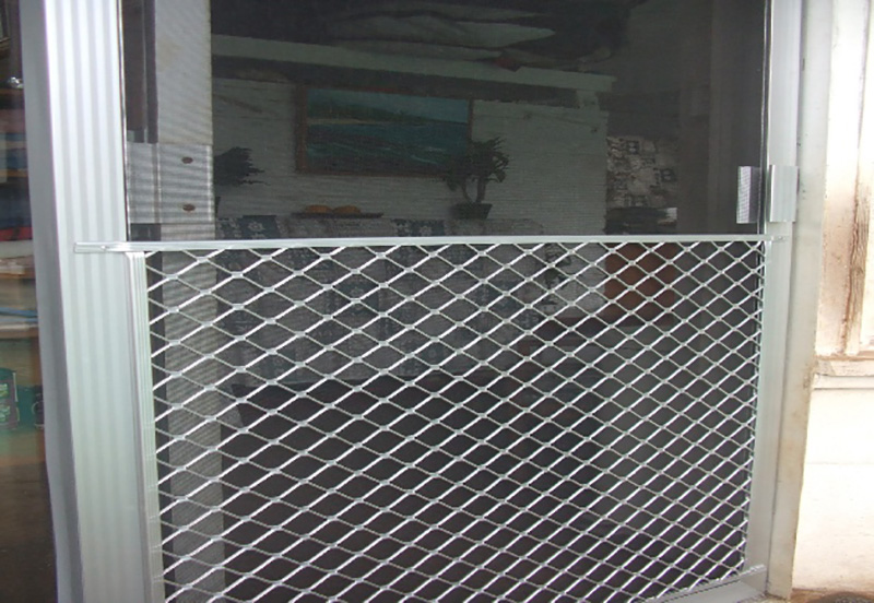 Sliding Screen Door Guard Photos Wall And Door Tinfishclematis